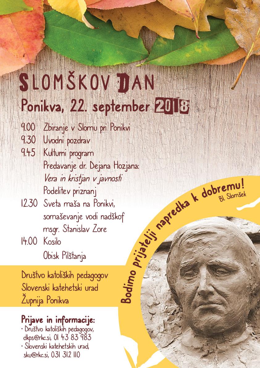 Slomškov dan 2018